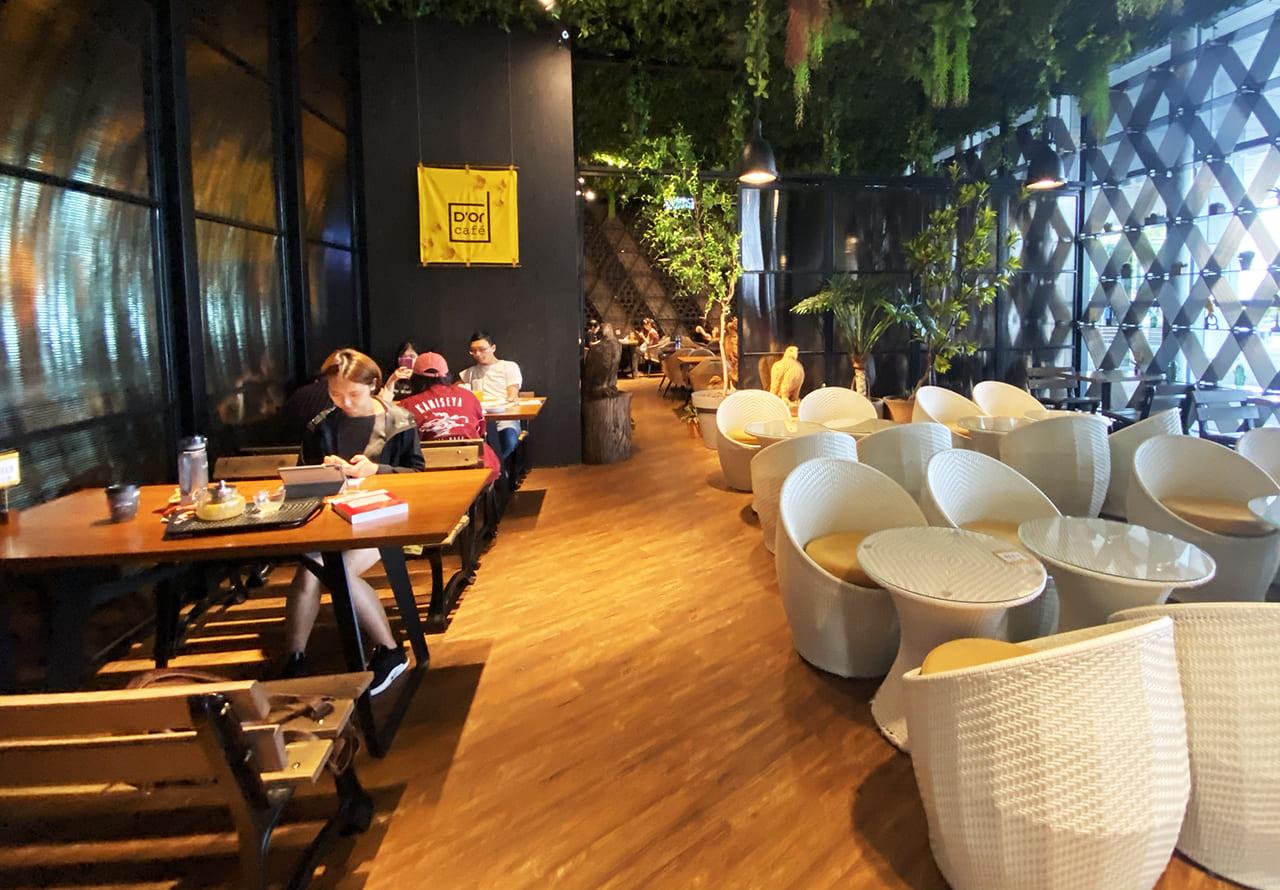 D'or cafe用餐環境