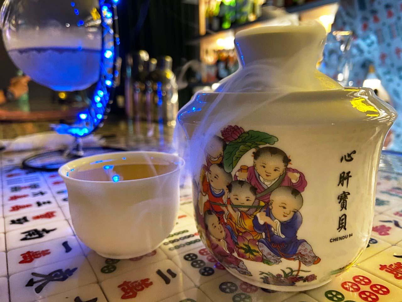 成都玖肆/蒂寶麻雀館/心肝寶貝:調酒_心肝寶貝
