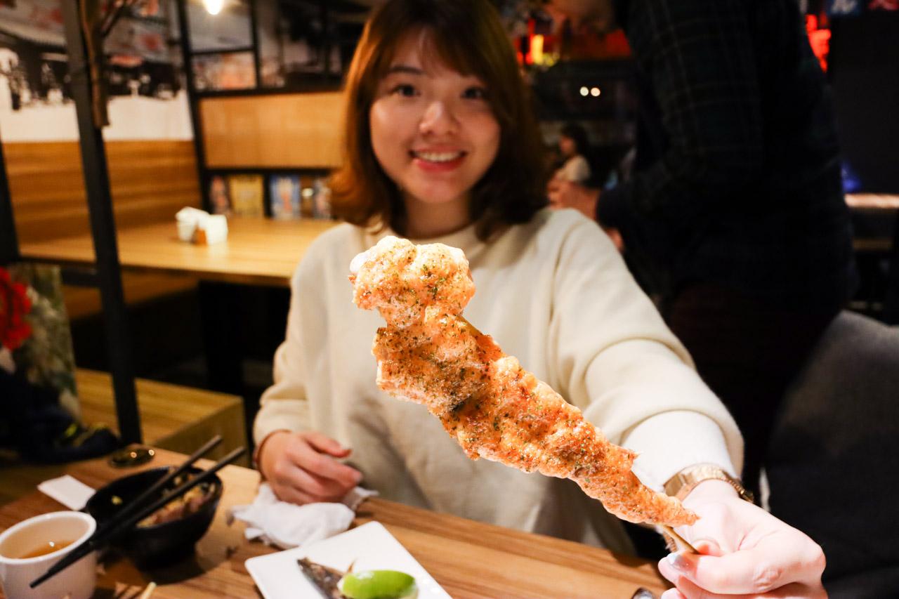 明太子雞翅串